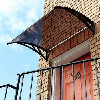 Fixed Front Door Awning Canopies For Sun Shade Rain Shelter Buy