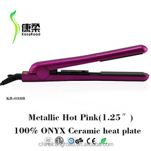 Free Sample Pro Ceramic Straightening Iron 110~240V Flat Iron 400g Hair Straightener