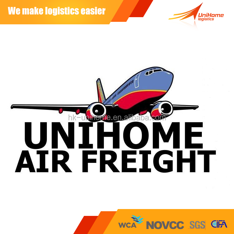Cheapest air freight shipping rate from china/beijing/shanghai/Hongkong to UNITER KINGDOM/ENGLAND