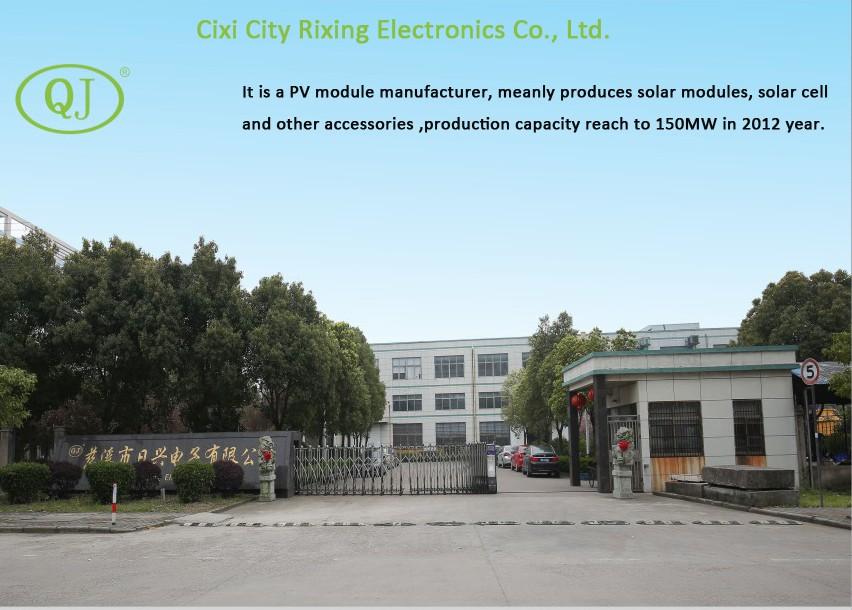 Factory-Cixi Rixing