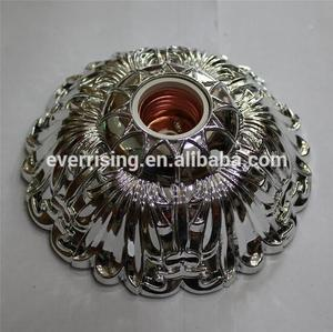 Hot decorative lamp bases diverse ABS shell full copper conductor, flame-retarded base E27/B22 ceiling lamp holder