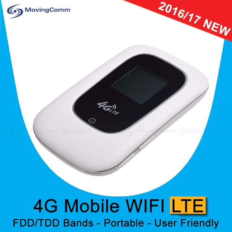 Latest MC-MD8 ZTE 7520M 2.4GHz LTE FDD B1 B3 2100mAH Battery Mini Portable 4G Modem