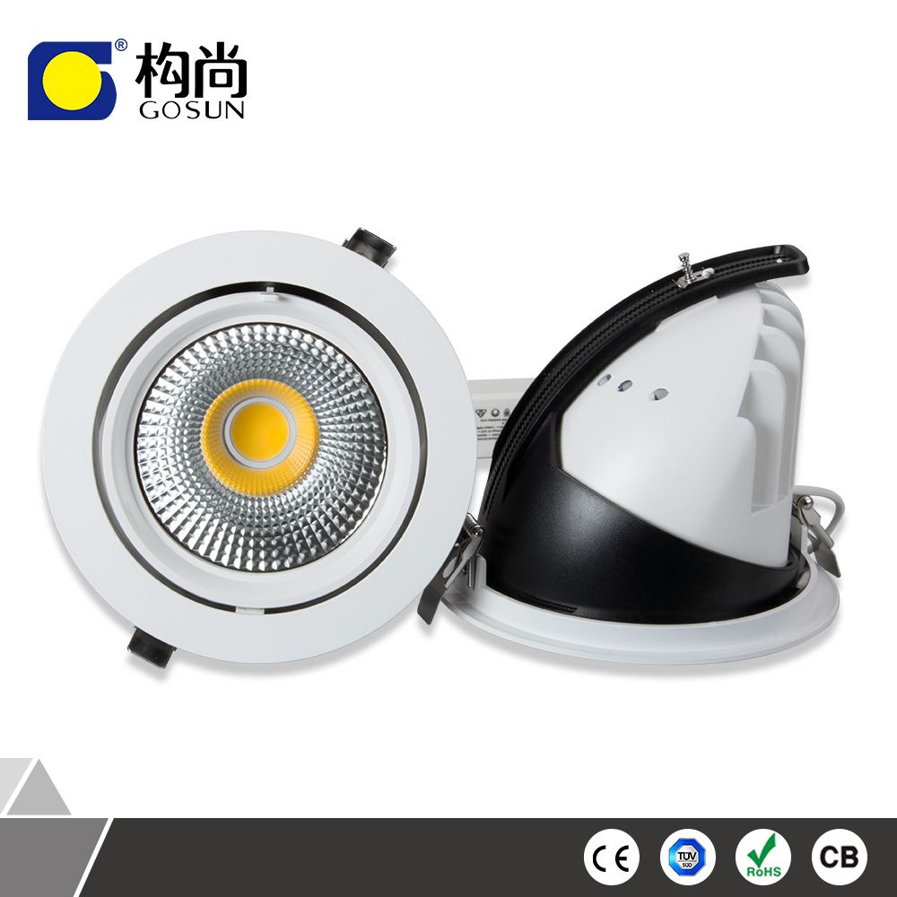 2017 OEM 50W <strong>downlight</strong> with 50mm cut out ceiling recessed remodel led can lights