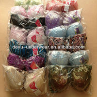 0.34USD Suitable For Every Market Cheap Embroidered Assorted Designs/Size Ladies Sexy Cheap Bra (kczk010)