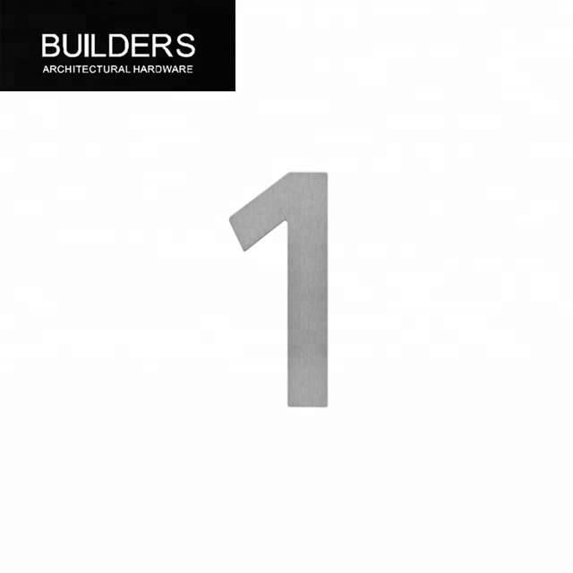 Door Building 10cm No 17 Stainless Steel House Numbers SCREW on House