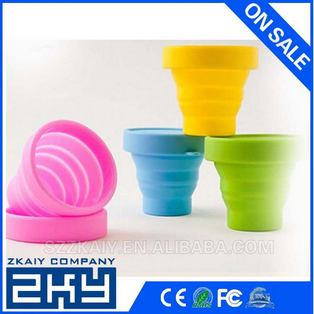 Non-Toxic Foldable Color Changing Magic Silicone Cup