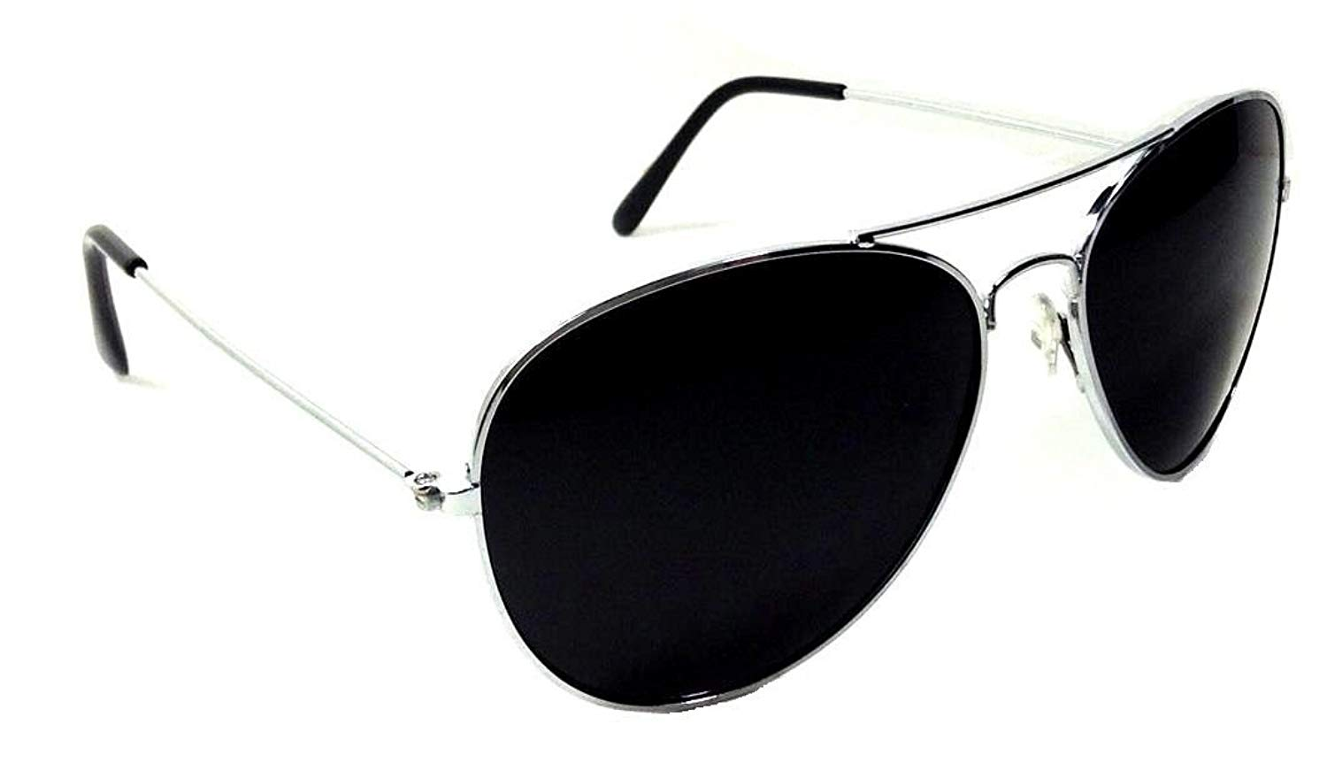 839846e3f37 Get Quotations · Black   Gold Pilot Aviator Sunglasses