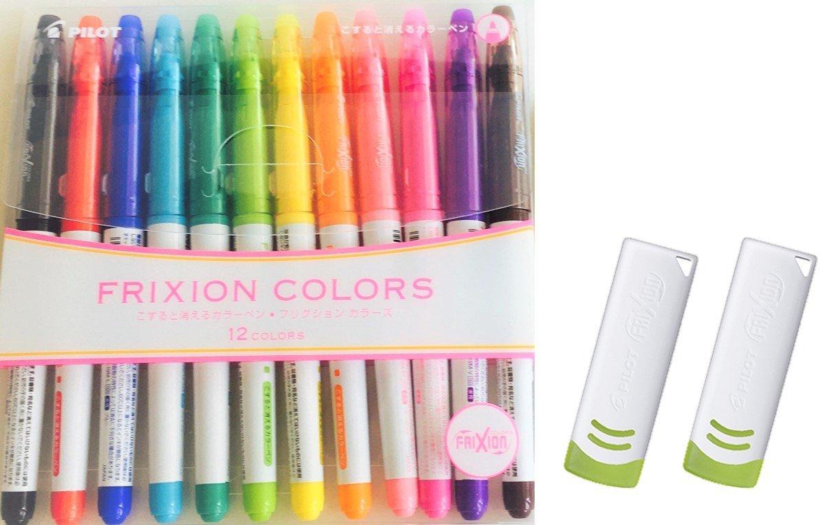 Pilot SFC-60M-6C2 FriXion Colors Erasable 0.7mm Marker Pen 6 Colors Set Japan