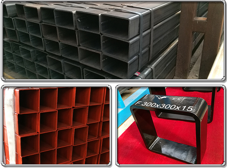 20*20 ASTM A500 Square Tube Hollow Section Steel Pipes