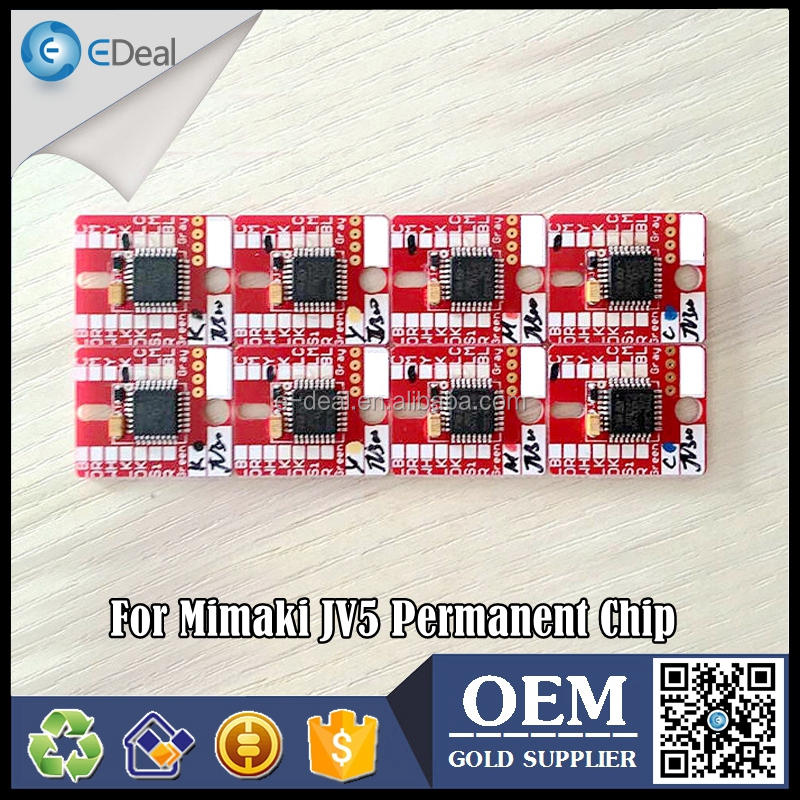 For Mimaki JV5 ink cartridge permanent chip for Mimaki ES3 HS SB51 SB52 printer chip