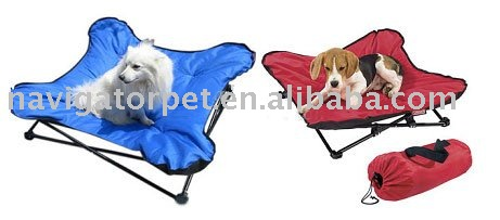 Foldable and Portable Iron Pet Bed,metal dog bed