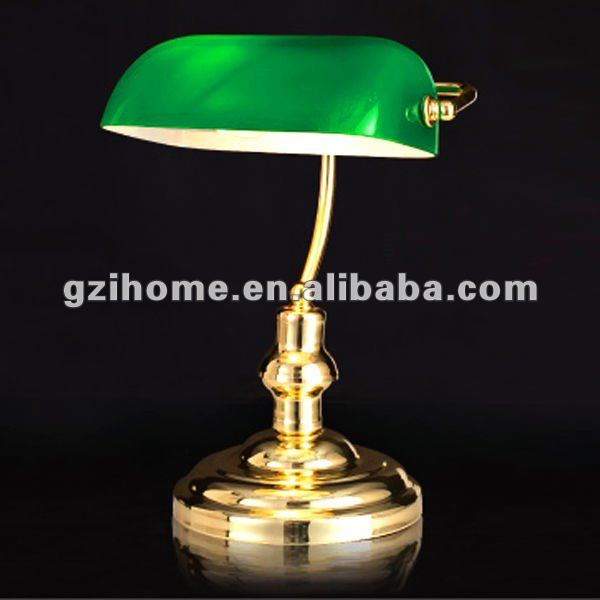 Classic Bankers Desk Work Table Lamp