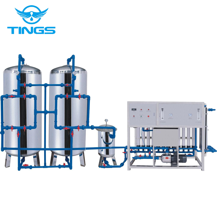 Industrial Reverse Osmosis Water Purification System 500 Lph Ro/large-scale  Water Purifier Storage Tank - Buy High Quality Water Purification