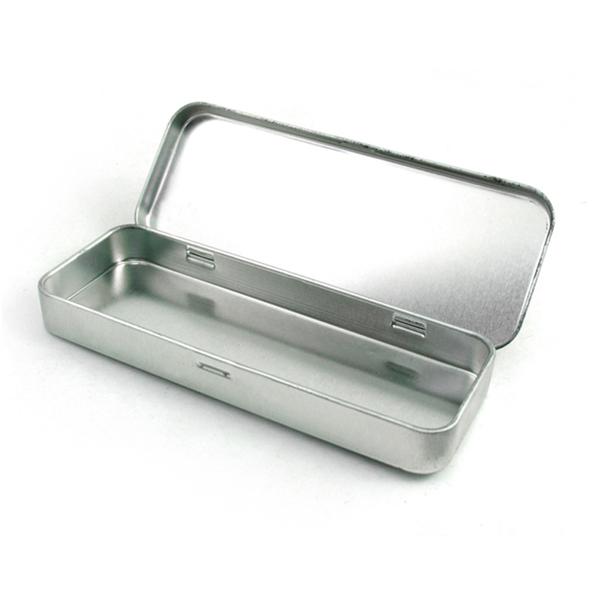 Metal pencil box
