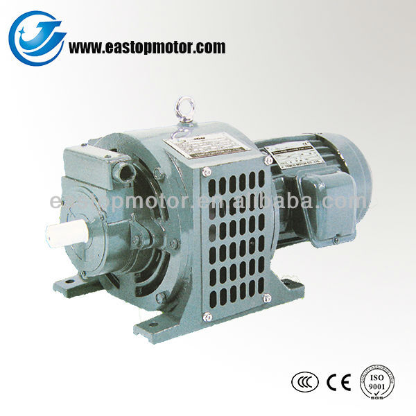 YCT small variable speed electric motor
