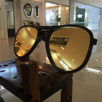 Modern home decoration large imitation glasses mirror/ hotel wall decor
