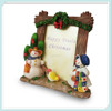 Wholesale home decoration resin christmas photo frame