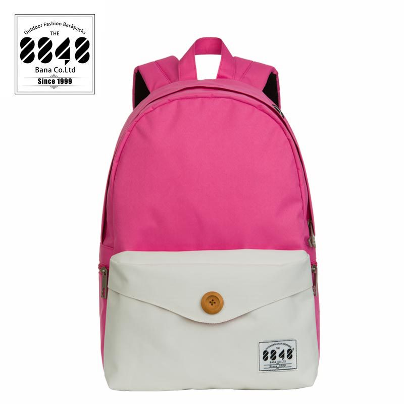 bb7222b32b Buy 8848 Polyester Patchwork Pink College Style Women Backpacks outdoor  travel bags Fashion school bags Unisex Freeshipping C062-4 in Cheap Price  on ...