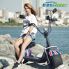 2017 Christmas EEC citycoco scooter city bike motorcycle for adutls 1000w 60v