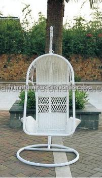 Garden White Swing Egg Hanging Chair YPS087