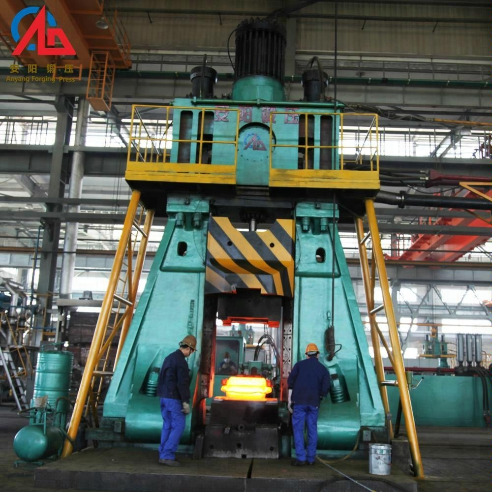 double-armed fully hydraulic die forging hammer to produce all kinds of closed die forgings