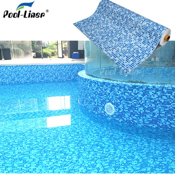 pvc in ground swimming pool liner fiber glass 3.2 rubber foam in guangzhou