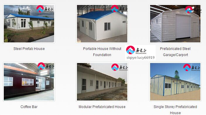 light fast install steel structure building