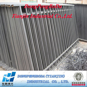EN 10025 2.5 inch mild steel pipe for colour garden steel fencing made in China