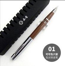 Wing Sung 601A вакуумная перьевая ручка поршневого типа, ручка с чернилами, серебряная крышка, деловые Канцтовары, офисные школьные письменные пр...(Китай)