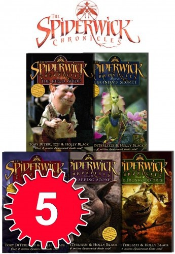 Spiderwick Chronicle Collection Holly Black 5 Books Set (Field Guide, The Seeing Stone, Lucinda's Secret, The Ironwood Tree, The
