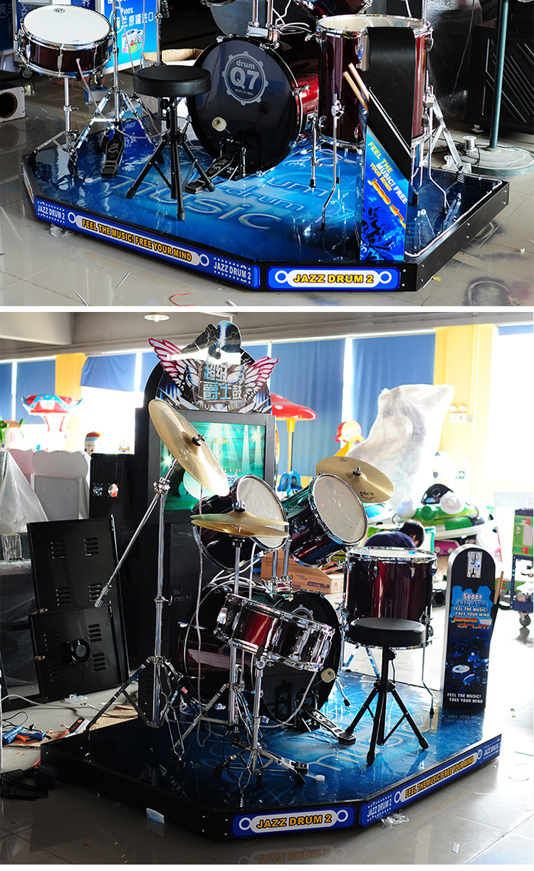 bufung 2018 super jazz drum 2 set electronic game machine buy jazz drum electronic game. Black Bedroom Furniture Sets. Home Design Ideas