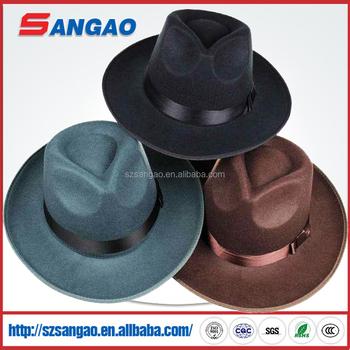 db1e72e3ce3f Wholesale Kids Big Brim Jewish Felt Hats Borsalino - Buy Jewish Felt ...