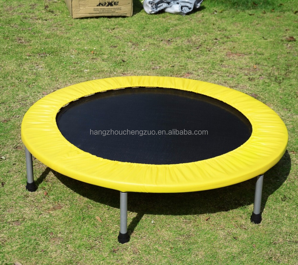Hiqh Quality 5ft Foldable Trampoline For Children 60 Inch Fitness TrampolineCZA 009B