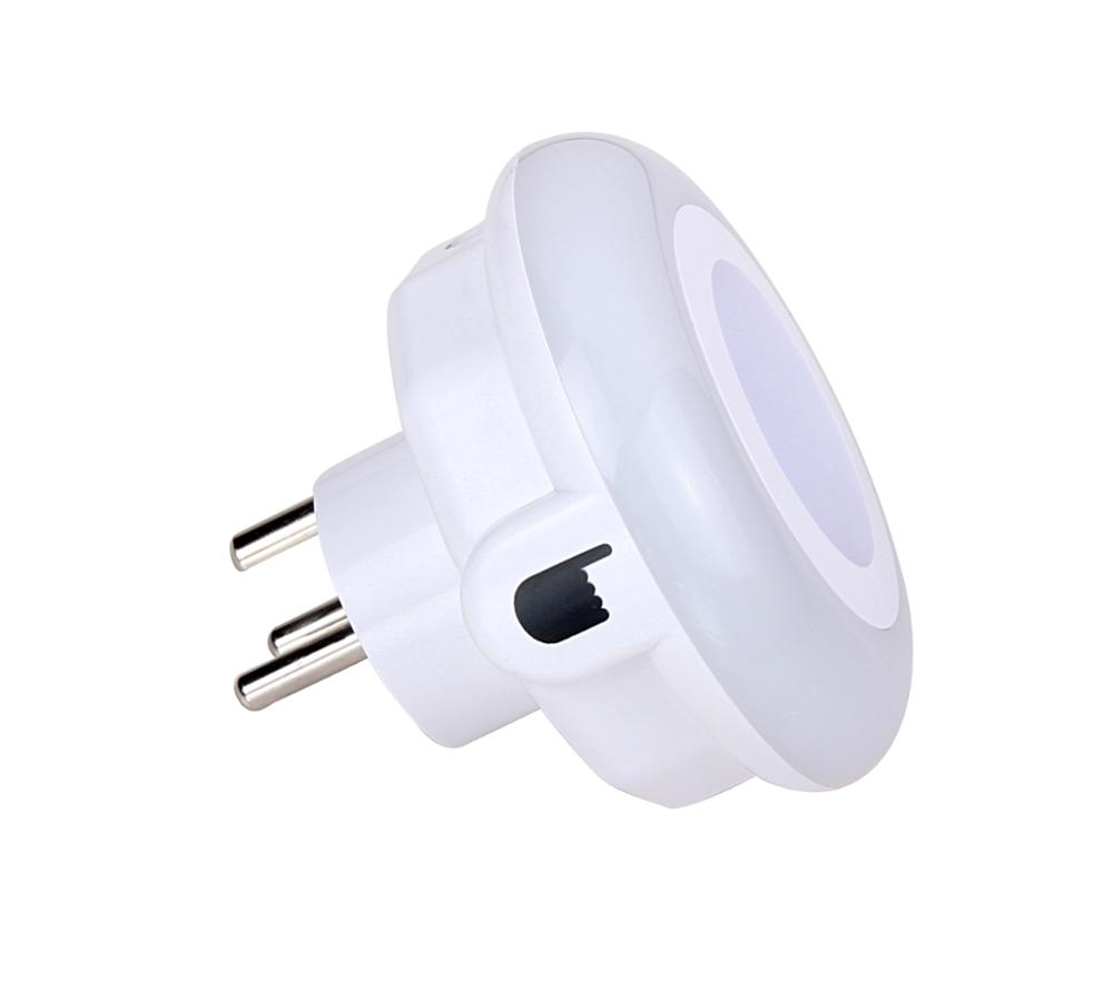 Mini Color Led Motion Sensor Switch Indoor Night Light Socket Buy Night Light Socket Led Night