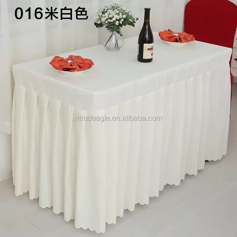 Table Skirting For Wedding, Table Skirting For Wedding Suppliers And  Manufacturers At Alibaba.com