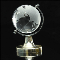 Crystal Glass Globe Earth World Wedding Favor Party Event Favor