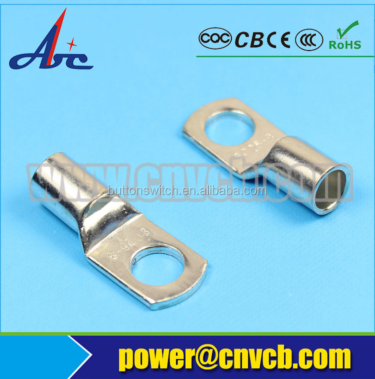 T43-COPPER CONNECTING TERMINAL(DTGA) SC25-8 cable tin plated terminal lugs