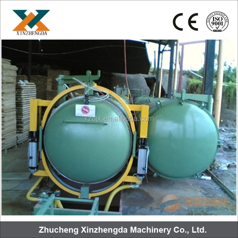 High efficiency Wood vacuum impregnation machine