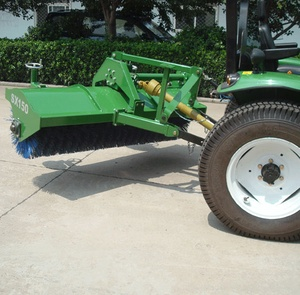 tractor implement 3-Point Hitch snow Sweeper machine