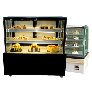 Rectangle Cooling Cake Showcase/glass Display Cake Refrigerator Cabinet /Glass Display Cabinet