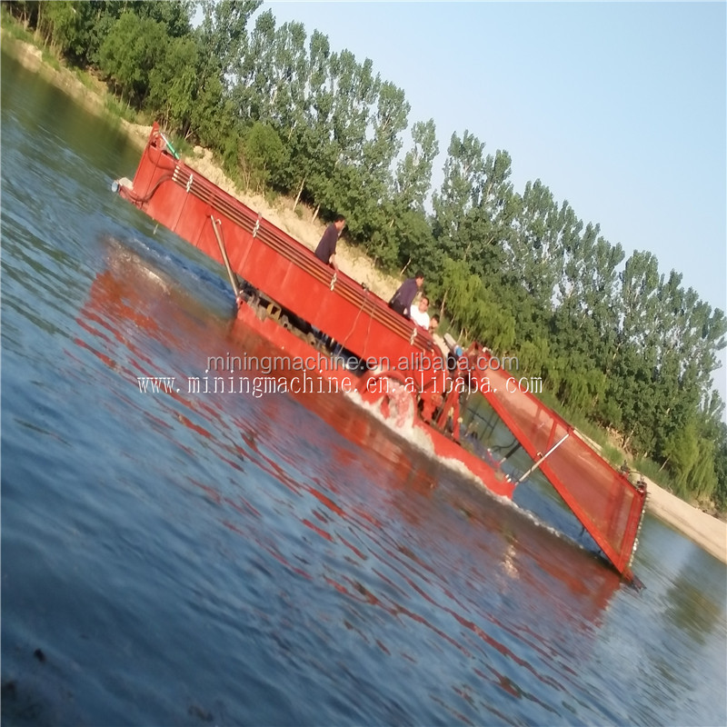 Aquatic Weed Removal Boat Harvester Trash Collector