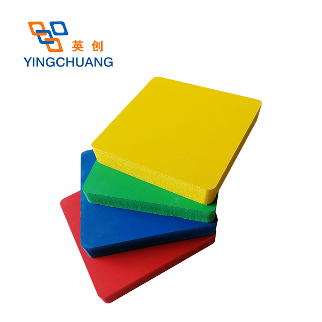 0.8-40mm thick pvc furniture raw materials foam sheet price