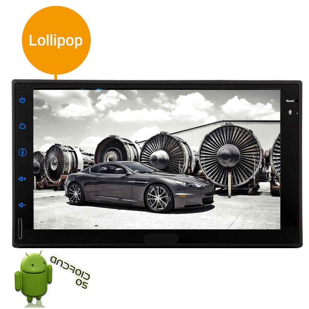 Hot sale Quad core 2 din car tablet 7 inch android Universal double 2 din Car stereo gps navigation Player Mirror Link bluetooth in dash car autoradio 5.1 Lollipop 1g ram+16g rom AM/FM radio