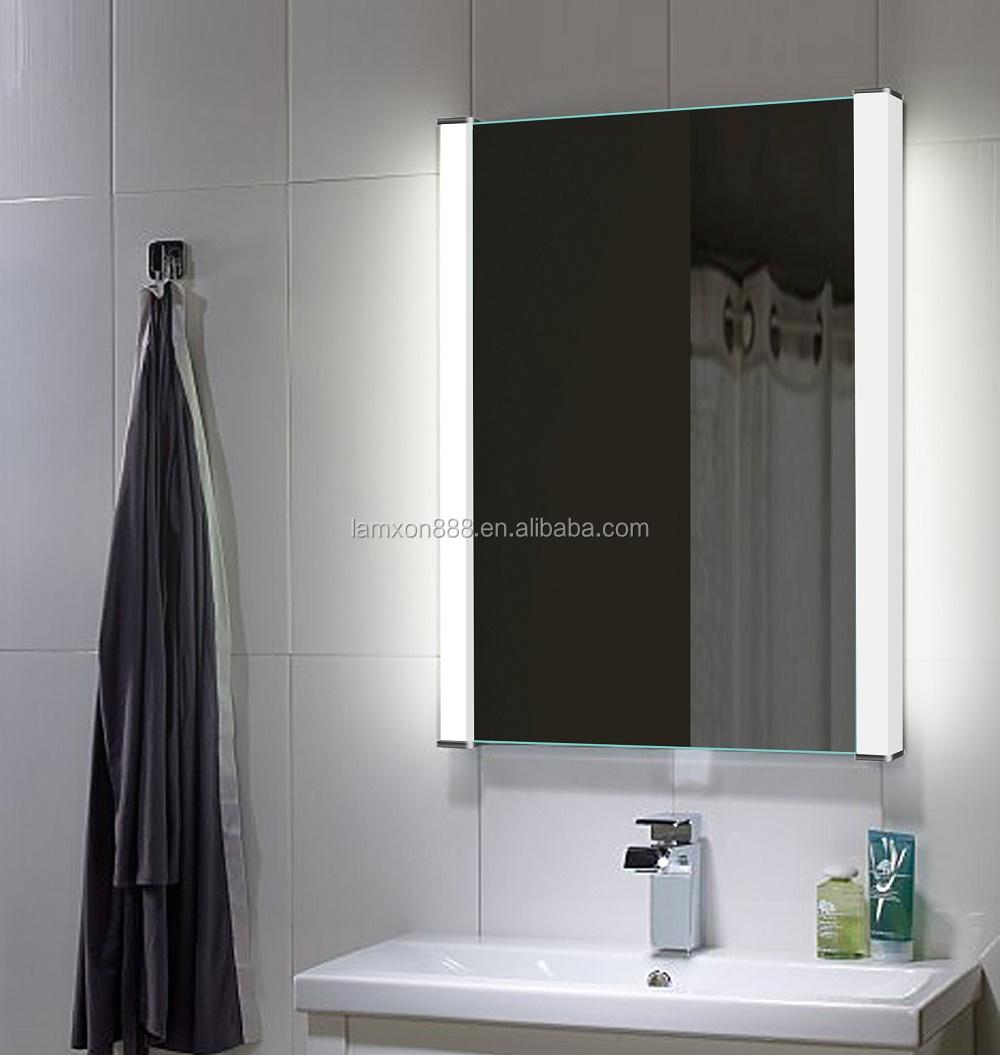 Lamxon ba o vanidad espejo retroiluminado con led acr lico - Espejo bano retroiluminado ...