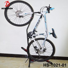 2017 New type bike roof rack sturdy China bicycle vehicle park rack stand
