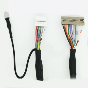 Factory 30 Pin LCD Ribbon Cable To 40 Pin Connector Lvds Cable Assembly