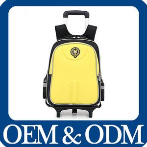 2018 Kids Schoolbag Back pack Rolling Backpack Wheeled Bags Trolley Girls  School Bag With Wheels 93bff48b0aa99
