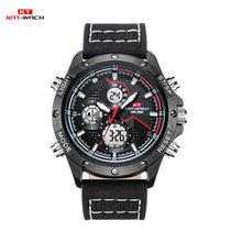 KAT-WACH наручные часы для мужчин от ведущего бренда, роскошные спортивные часы для мужчин, модные мужские часы с кожаным ремешком, мужские часы...(Китай)
