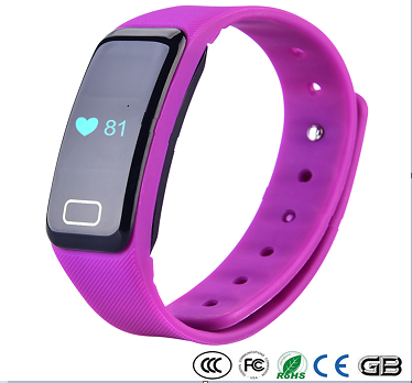 2017 New smart bracelet Android&ios fit bit bluetooth bracelet fitness tracker IP67 waterproof