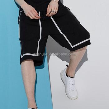ad71d1014a high waisted denim shorts knee length mens wholesale sweat shorts plain dyed